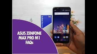 ASUS Zenfone Max Pro M1 FAQs- Sensors, Fast Charging, LED Notification, USB OTG and More