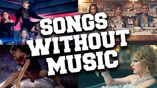 Best 50 Songs Without Music (Funny Music Videos Without Sound)