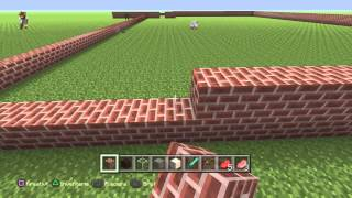 Minecraft building a big house, part 1
