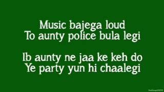 Party All Night Lyrics   Boss Ft  Yo Yo Honey Singh Aksha