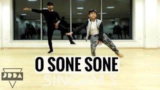 O Sone Sone   S3   SINGAM DANCE cover   Suriya, Shruti Haasan   @JeyaRaveendran choreograph
