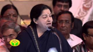 Speech Given By Our Honorable CM In 100 Year Indian Cinema Celebration by Jaya Tv