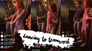 JOHNNY & LAUREN ORLANDO DANCE ON KENZIE ZIEGLER'S SONG & ANSWER QUESTIONS!