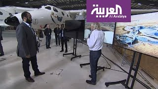 محمد بن سلمان في ميناء موهافي للطيران والفضاء