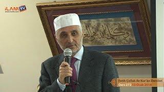 Kuran Dersi 272 - Fatih Çollak ile Kur'ân-ı Kerim Dersleri (Kısa Sureler ve Kısaca Anlamları)