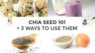 Chia Seed 101 + 3 Ways To Use Chia Seeds