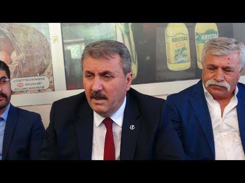 BBP Partisi Genel Başkanı Destici, Adıyaman'da