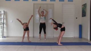 Beginner Acro Dance Year 1; Lesson 2