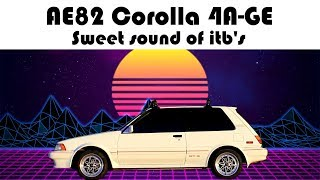 4AGE Sweet Sound Of ITB's - Corolla FX16
