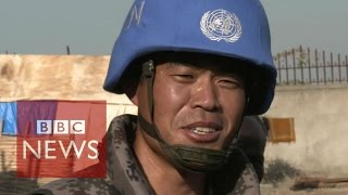 On patrol with China's first UN peacekeepers - BBC News