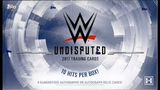 Box Busters: 2017 Topps WWE Undisputed