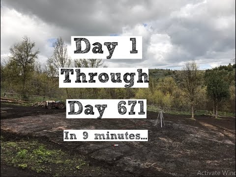 Xxx Mp4 671 Day Timelapse Of Building Our Homestead From Scratch 3gp Sex