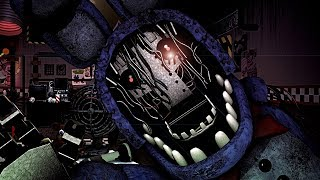 [SFM/FNAF] FNAF6 Ultimate Custom Night WITHERED BONNIE ALTERNATE Jumpscares Animated 😱