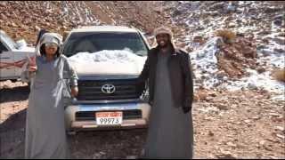 رحلة من أبوظبي الى مدينة تبوك ( السعودية )