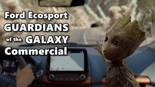 2018 Ford Ecosport Guardians Of The Galaxy Ad
