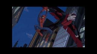 Spectacular Spider-Man (2008) Spider-Man vs Vulture & Enforcers part 1/2