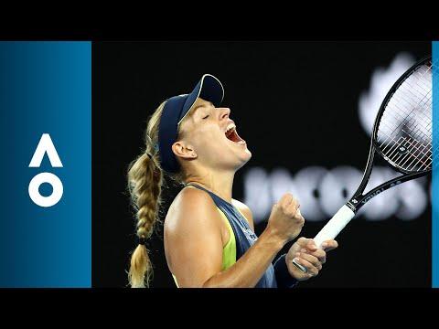 Angelique Kerber v Maria Sharapova match highlights (3R)   Australian Open 2018
