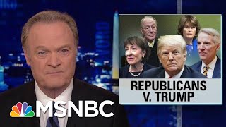2 Times In 2 Days Republicans Vote Against President Donald Trump | The Last Word | MSNBC