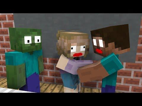 Xxx Mp4 BEST ALL Monster School Girl Kisses Herobrine Minecraft Animation 3gp Sex