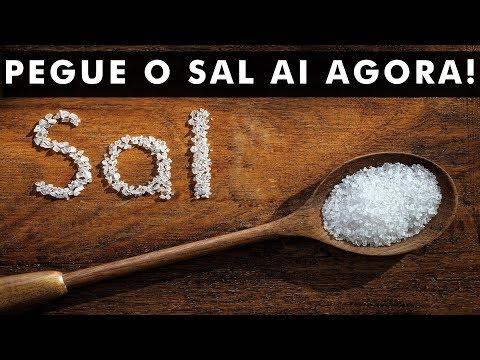 Isso é o que acontece se você colocar sal nos cantos da sua casa
