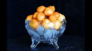 Loukoumades Recipe (Turkish Sweet Fried Dough - Lokma)