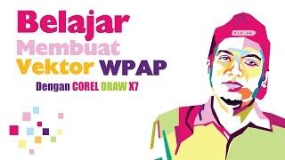 Belajar Membuat Vektor WPAP Dengan Corel Draw X7