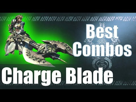 Xxx Mp4 Monster Hunter World MHW The BEST Charge Blade Combos Guide 3gp Sex
