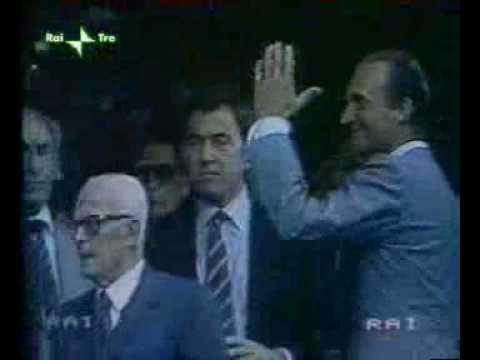 Pertini ed i mondiali 1982