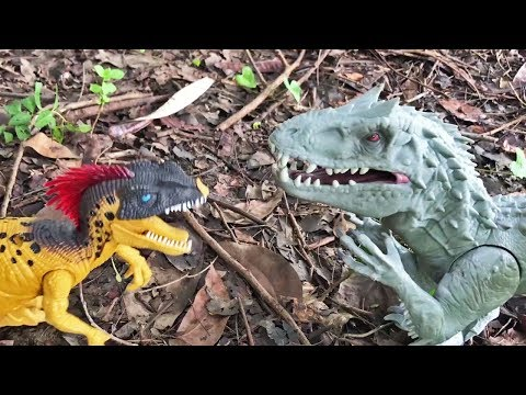 Dinosaurs vs. Snakes in the Jungle | Indominus Rex, Centipedes, Cobra, Trex fight battle action