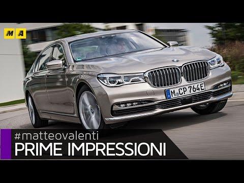 BMW Serie 7 ibrida plug in 740Le Primo Test ENGLISH SUB
