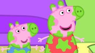 Peppa Pig Świnka Peppa po Polsku | Swinky Peppy Super Mix 8 | Bajki Po Polsku