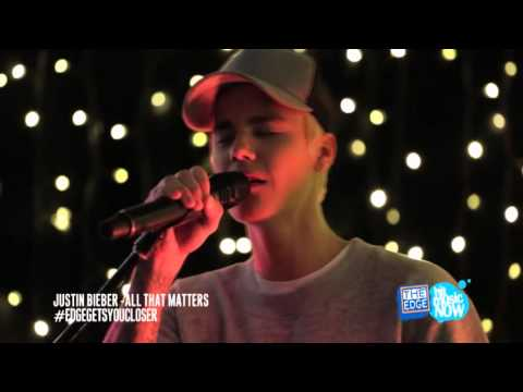 Justin Bieber - FULL The Edge Intimate & Acoustic performance (New Zealand 1th October 2015)