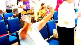 HOLY GHOST MOVING IN THE CHURCH