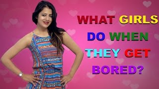 What girls do when they get bored? | Studio39