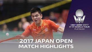 2017 Japan Open | Highlights Ma Long vs Fan Zhendong (Final)