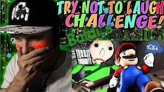 "Vapor Reacts #652 | TRY NOT TO LAUGH CHALLENGE ""If Mario was in Baldi"