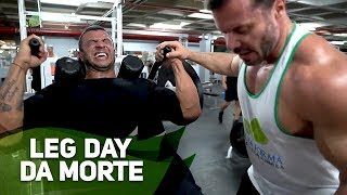 LEG DAY DA MORTE DO BAMBAM COM RENATO CARIANI