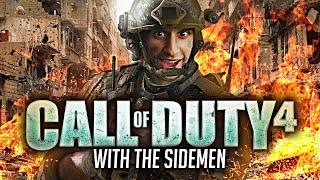 CoD 4 LIVE & Random Facts #3 with The Sidemen (Call Of Duty 4 Modern Warfare)