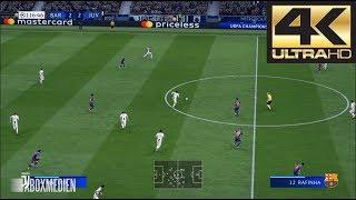 FIFA 19 4K 60 FPS Amazing Realism LIVE Broadcast Camera Barcelona vs Juventus