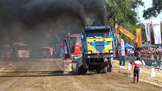 Truck Pulling - Scania 143M | Volvo FH16 | Scania 164L | Scania R142 V8 | Hungary