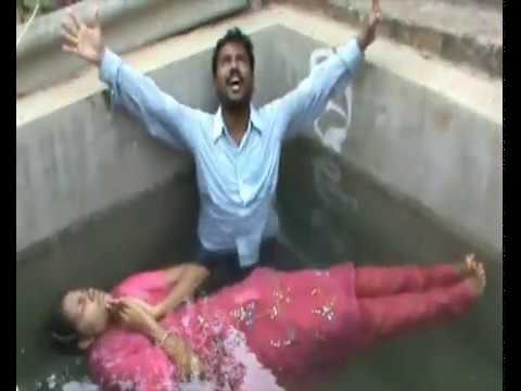 GOD s miracle power in the baptism Pastor Daniel kadapa India 1.mp4