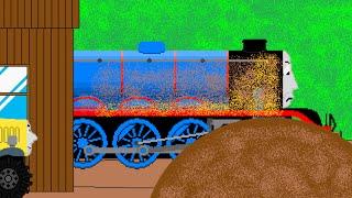 Thomas and Friends Animated Remakes Episode 51 (Gordon Takes A Tumble)