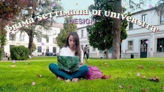 PRIMA SETTIMANA ALLA NABA!! DESIGN DELLA COMUNICAZIONE || Julie Demar