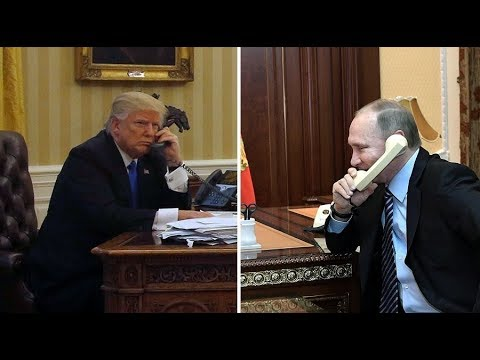 Trump Putin have 'great call' that lasts 1.5 hrs