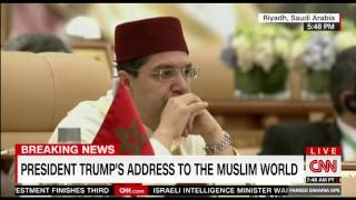 Trump calls on Muslim nations to drive terrorists out of the Earth