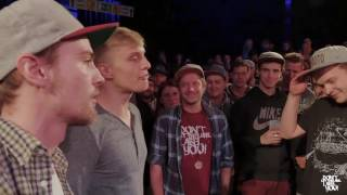 DLTLLY // Rap Battles // Brian Damage & Harry Crotch VS Robscure & Karma