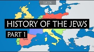 History of the Jews - summary from 750 BC to Israel-Palestine conflict