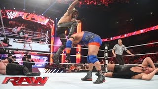 Ryback, Randy Orton & Roman Reigns vs Big Show, Kane & Seth Rollins: Raw, March 30, 2015