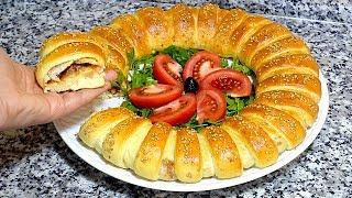 فطيرة او خبزة معمرة في الفرن بحشوة لذيذة جدا تستحق التجربة راااقية جربوها