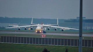 Celebrating 100,000 Video Views on my Channel - An-225 Mriya - Wet Take Off on December 17th 2015
